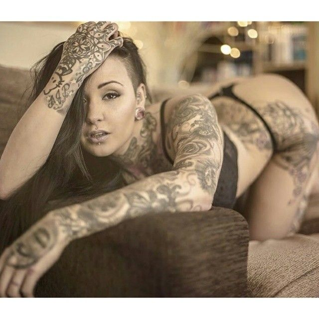 Instagram post by famous inked model agency for Tattooed girl instagram
