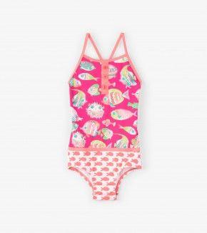 Fancy Fish Colourblock Swimsuit