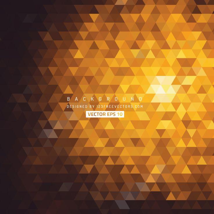 Dark Orange Triangle Background Image  - https://www.123freevectors.com/dark-orange-triangle-background-image/