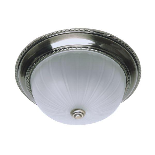 Plafon LAMPA sufitowa EL GRADO 4702350 Spotlight patyna biały | =mlamp.pl=