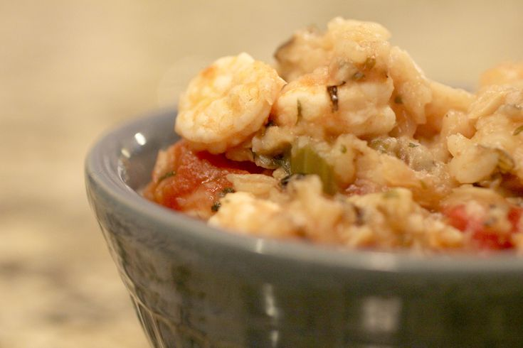 Crockpot Cajun Shrimp & Rice - very easy weight watchers meal! Even though it's good for you, it fills you up and you don't feel hungry!
