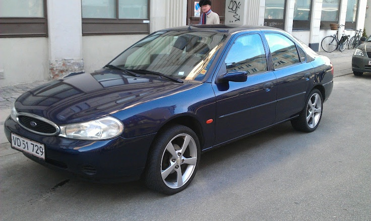 2012-2013: 1998 Ford Mondeo, 1.8 / 115 Hp