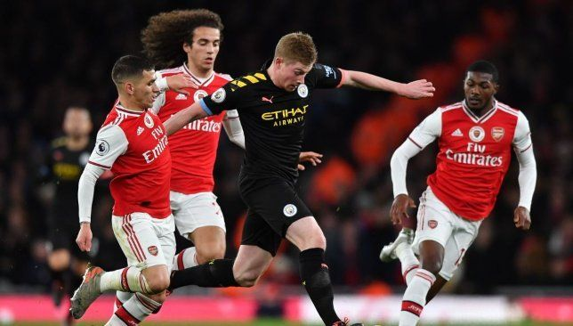 Arsenal 0 3 Man City Player Ratings As Kevin De Bruyne Demolishes Defenseless Gunners Man Of The Match Premier League Champions Kevin De Bruyne
