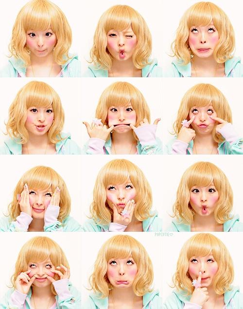 きゃりーぱみゅぱみゅ (Kyary Pamyu Pamyu)    Silly faces!