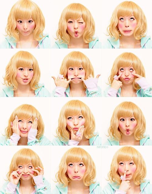 きゃりーぱみゅぱみゅ (Kyary Pamyu Pamyu) Silly faces!