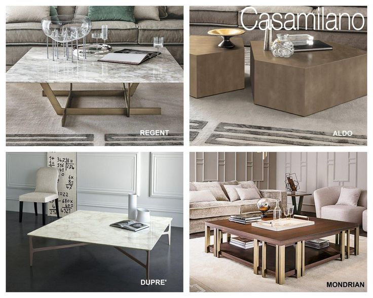 Focus on  Coffee tables by Casamilano home collection More on www.casamilanohome.com