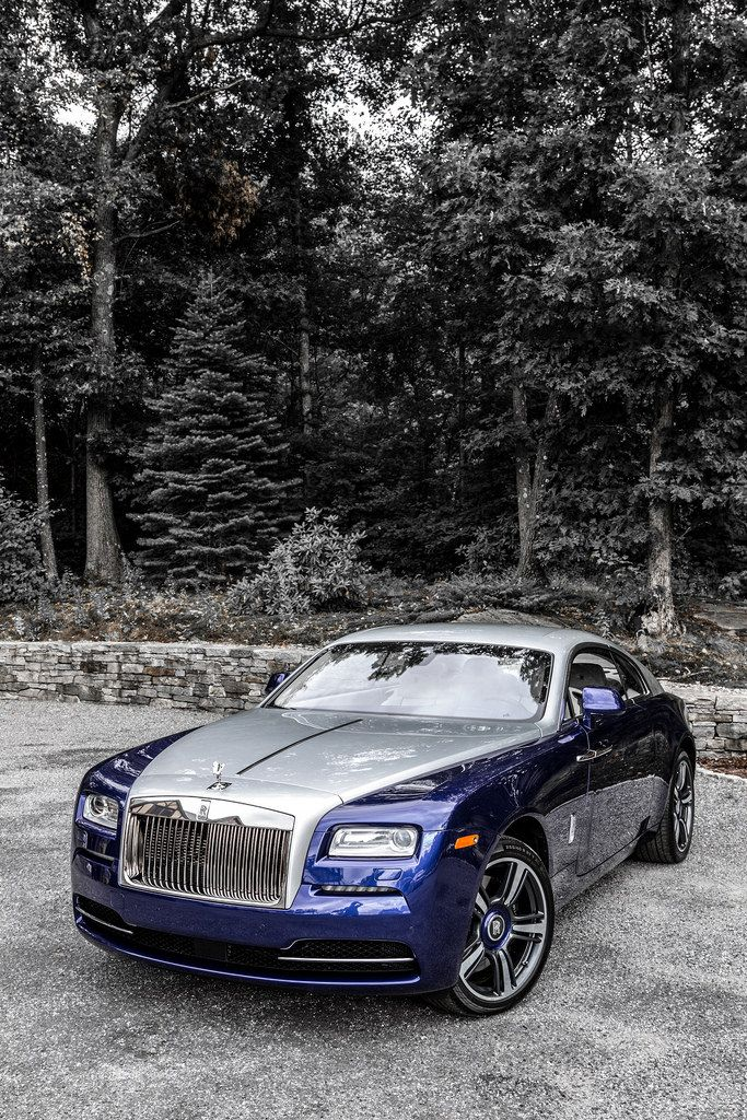 Rolls Royce Wraith. The most powerful production Rolls Royce ever made.