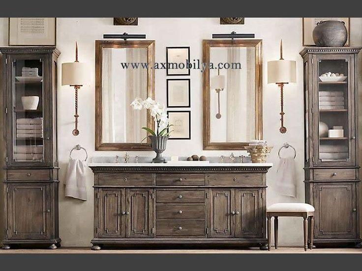 Klasik Banyo Mobilyaları BN0013 - Workistan Mobilya #mobilya #workistan #furniture #istanbul #axmobilya #mkt @workistan