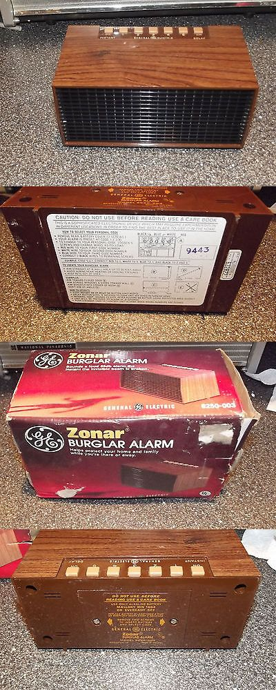 Other Home Surveillance: Vintage New In Box Ge Sonar Burgular Alarm Model # 82540-003 BUY IT NOW ONLY: $44.0