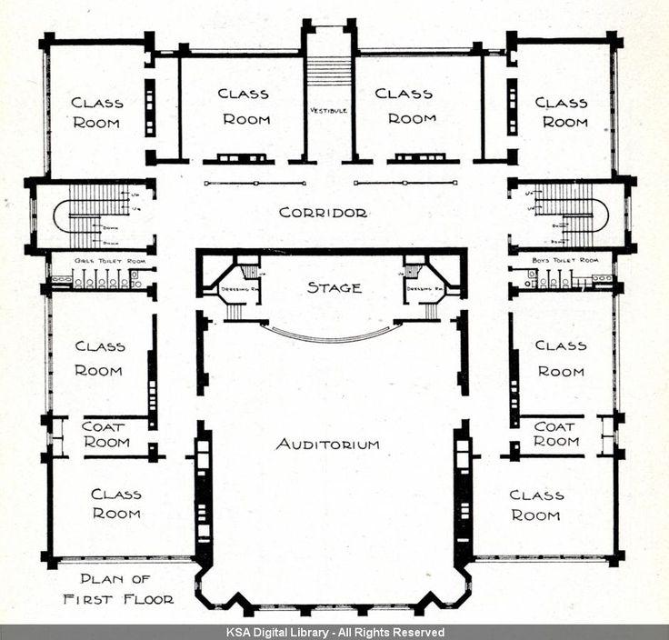 Messy Kitchen Floor Plan: Tags Bluefield School Wilbur T