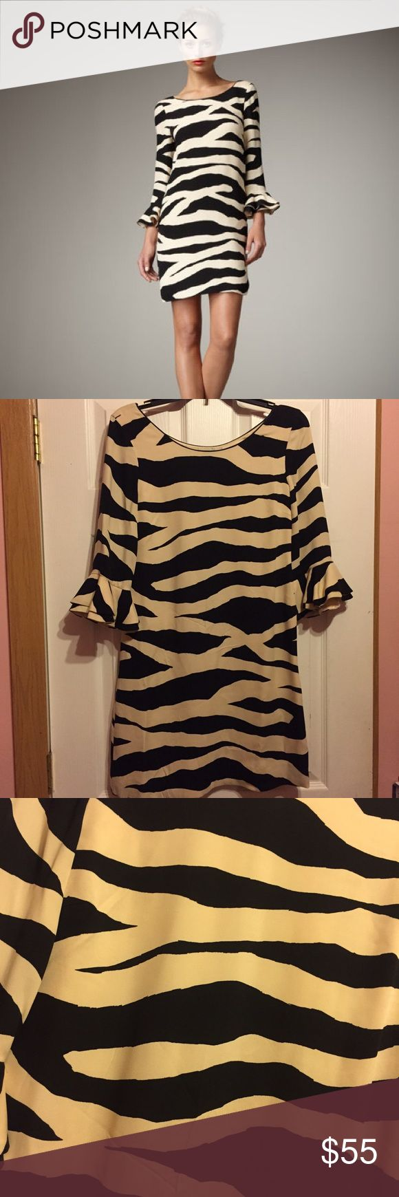 Kate Spade Andora Zebra Print Dress Kate Spade Andora Zebra print dress. Only worn once. Absolutely love this dress! But it no longer fits :/ Like new, no stains. Size 2. I'll take offers! kate spade Dresses Mini