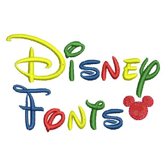 disney embroidery applique designs | Disney Alphabet Monogram Fonts and Motifs Machine Embroidery Designs ...