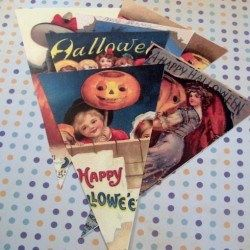 Halloween Bunting Project + Free Printable