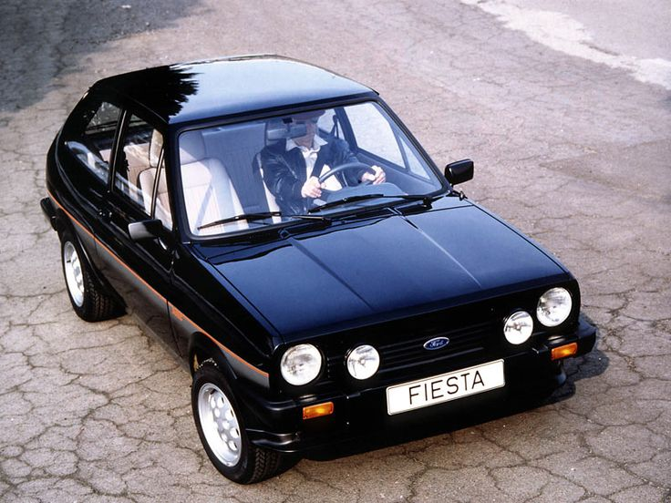 Ford Fiesta XR2 Black