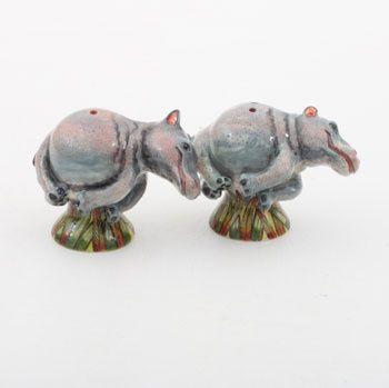 Ardmore Ceramics Hippo Salt/Pepper