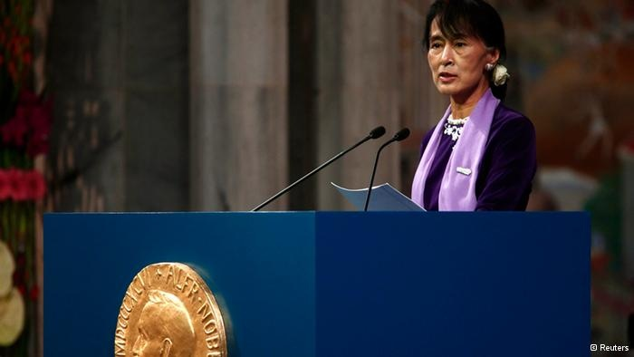 Aung San Suu Kyi finally gets to accept the 1991 Nobel Peace Prize in person: Nobel Peace Prize, Icon Aung, Nobel Prize, Aung San, 1991 Nobel, Nobel Prize, Suu Kyi, San Suu, Accepts Nobel