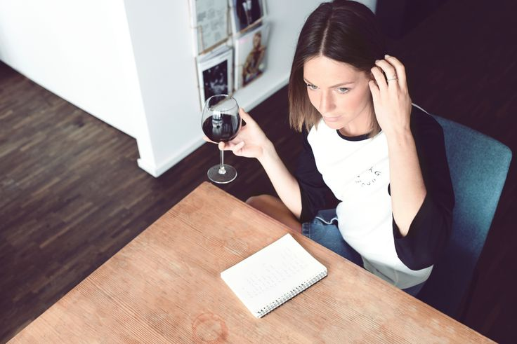 """""""I'm one of these people that still love to write. I need a real agenda, meeting-notebook, cooking recipes, etc. I love the feel and smell of paper and to make things personal.  And of course, not to forget, a glass of red wine. My true love."""""""