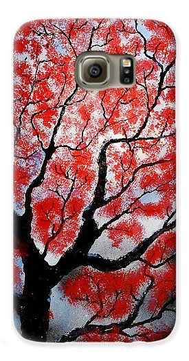 Spring Galaxy S6 Case Printed with Fine Art spray painting image Spring by Nandor Molnar (When you visit the Shop, change the orientation, background color and image size as you wish)