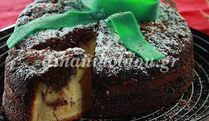 Βασιλόπιτα κέικ γεμιστό
