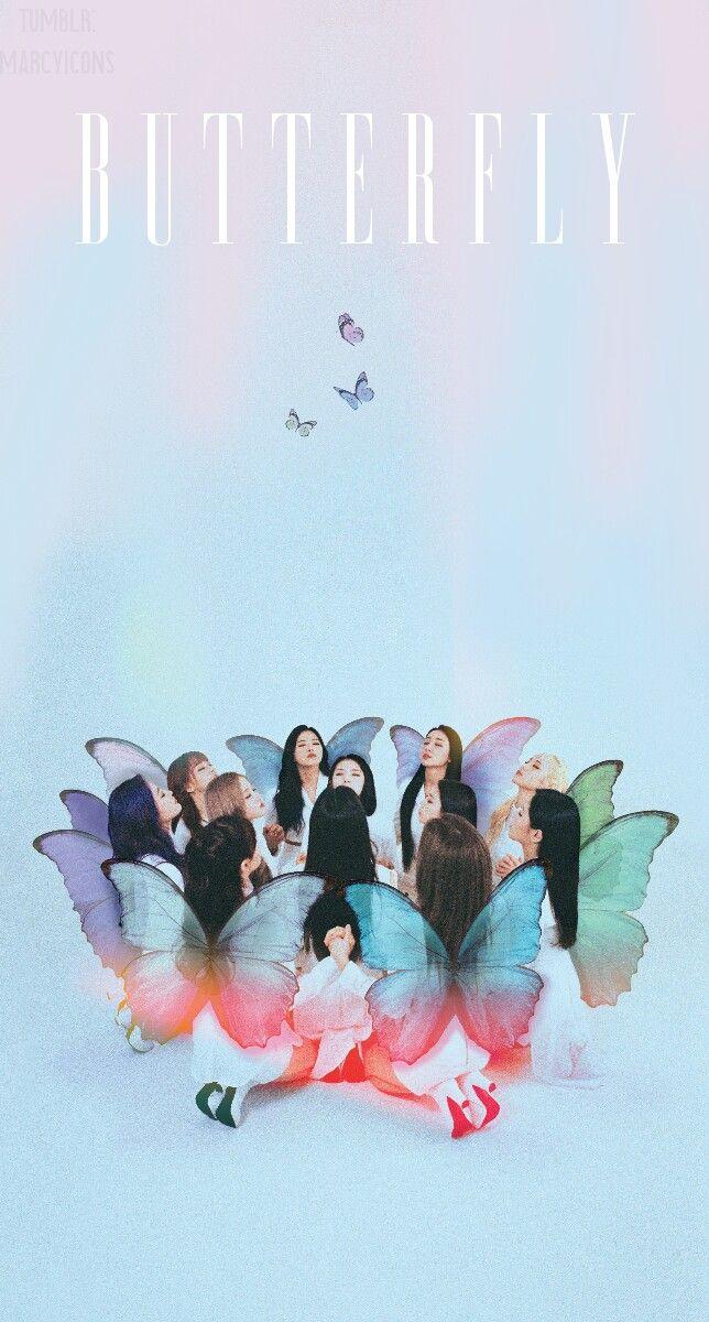 Loona Mv Butterfly Wallpaper Lockscreen Kpop Fondo De Pantalla Hd Iphone Haseul Vivi Yves Jinso Bts Papel De Parede Papel De Parede Celular Parede Celular