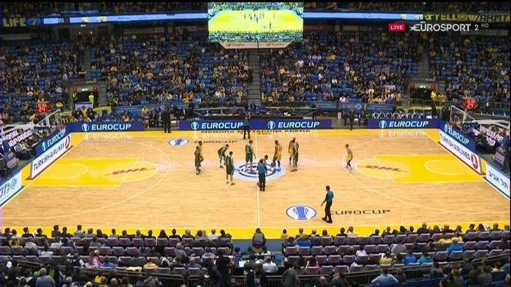 Eurocup 2016.01.06. Maccabi Fox Tel Aviv v Union Olimpija Ljubljana