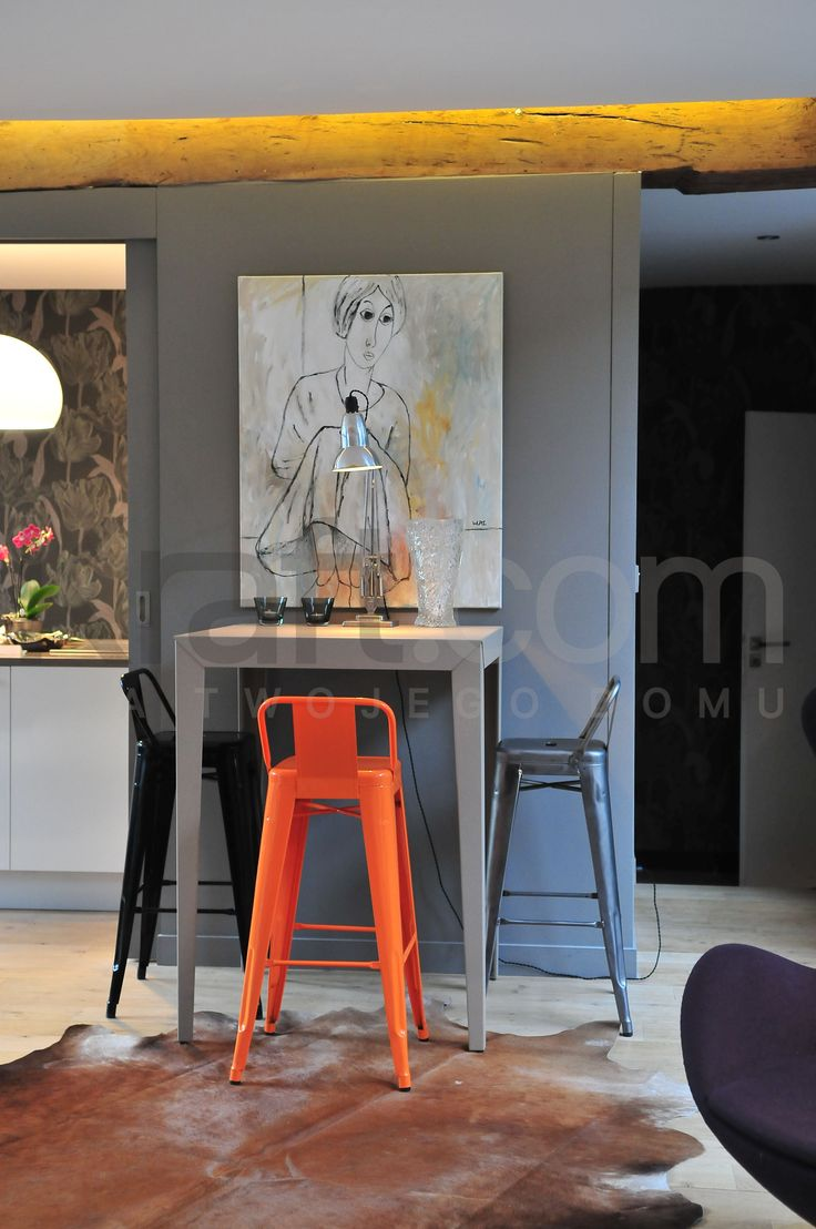 Industrail colorful design France home interior architecture all by kraft.com