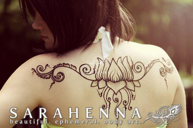 Lotus henna design | Flickr - Photo Sharing!