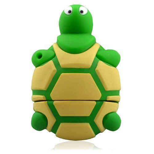 Green Tortoise USB Flash Drive