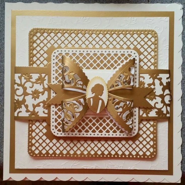 Jo's Special Little Somethings..... : Lettice have a lattice.... Beautiful card by the talented Jo Austin.