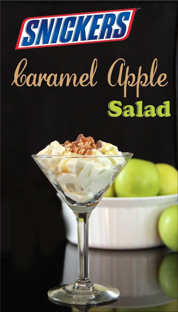 Sweet Southern Blue: Snickers Caramel Apple Salad