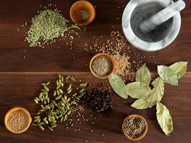 Follow these simple steps from Food Network to grinding and toasting spices and herbs, then watch the how-to video.