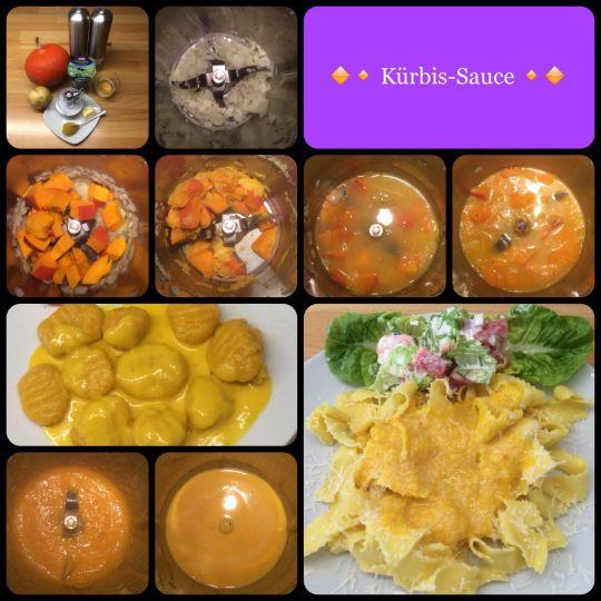 Gnocchi mit Kürbissauce