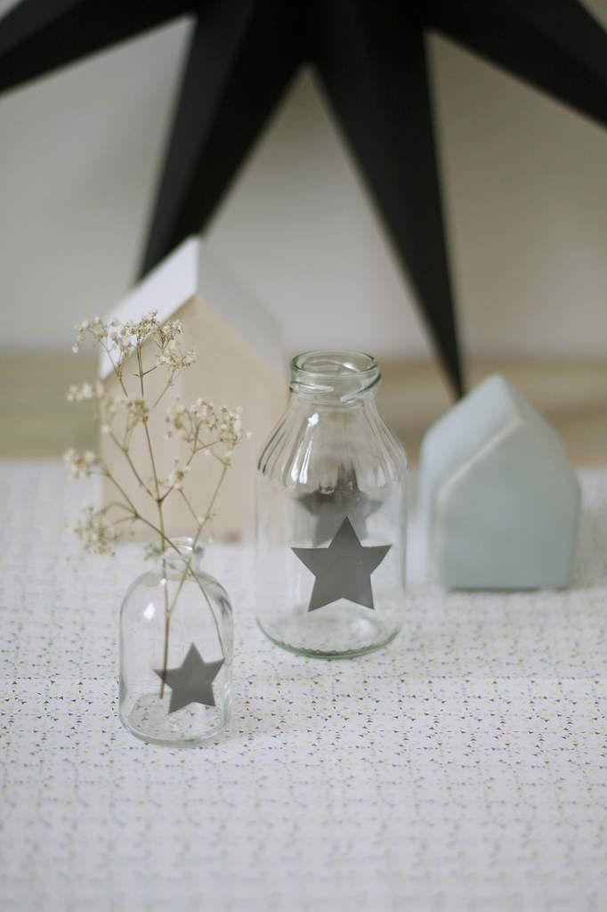 Les 25 meilleures id es de la cat gorie vase de bouteille for Idee deco pour grand vase en verre