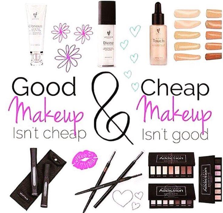 Cheap make up vs. Younique