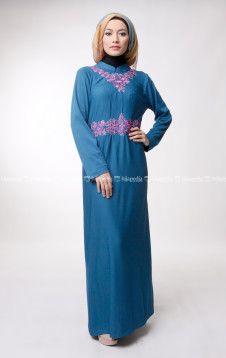 MARWA DRESS - DAYANA PANTS - Pusat penjualan koleksi fashion hijab jilbab kerudung busana muslim Dena Apparel terbaru online shop store http://goo.gl/0Mlh7H