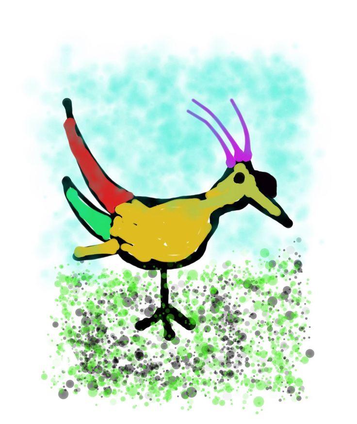Strange bird polyfinario