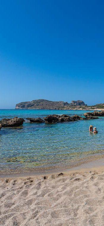 Beloved Falassarna beach in Chania, Crete
