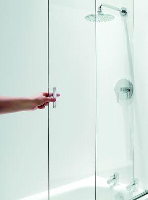 Parawan nawannowy Coram Showers - armatura łazienkowa - instalacje sanitarne - instalacjebudowlane.pl