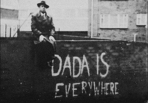 "DADA....Dadaism 1916-1923....the avant garde art movement which began in Europe and reached its heights in New York 1915. Artist Beatrice Wood is known as the ""Mama of Dada""."