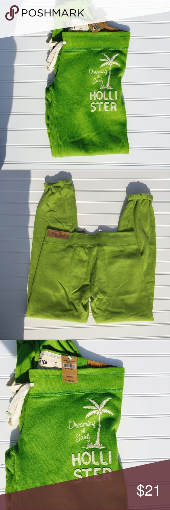 NWT HOLLISTER Brand new. SZ small. Hollister sweatpants claasic banded. Hollister Pants Track Pants & Joggers