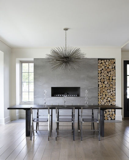 Modern Dining Room By Culligan Abraham Architecture FireplaceFireplace IdeasThe