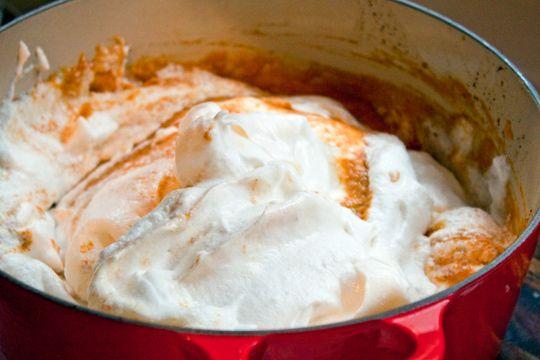 "Dad's Legendary Pumpkin Chiffon Pie"" adapted from Saveur, via ..."
