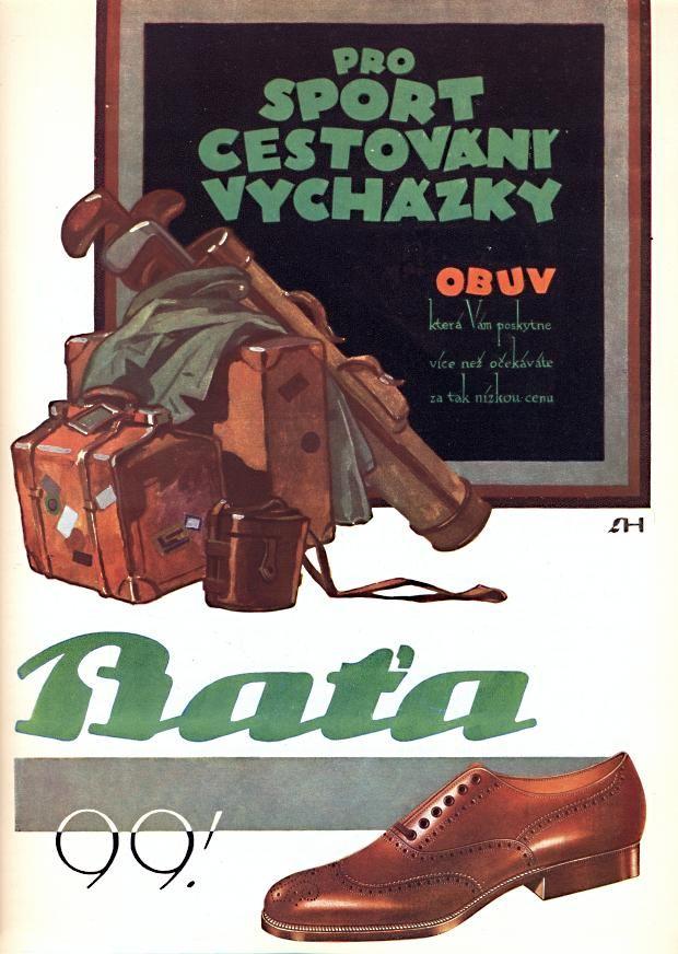 Reklama Baťa 1930 #Batashoes #advertising