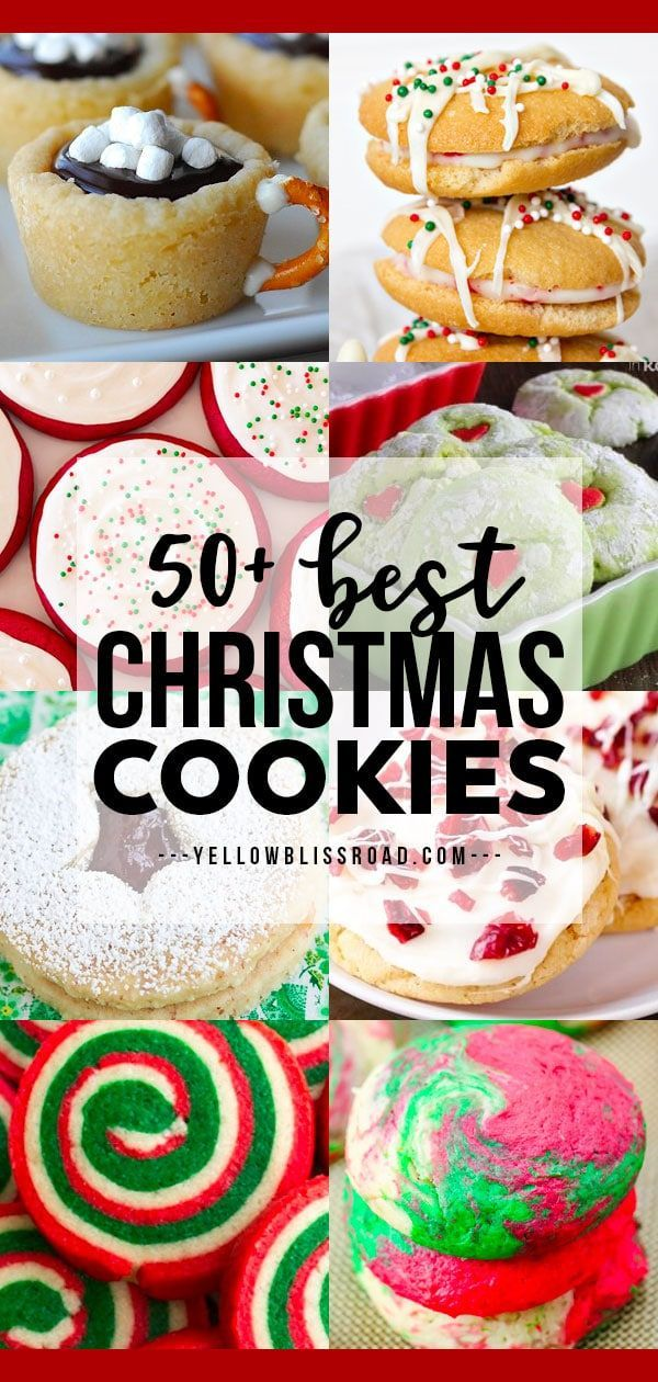Best Christmas Cookies For 2020 50+ Festive Christmas Cookie Recipes | Best Christmas Cookies in
