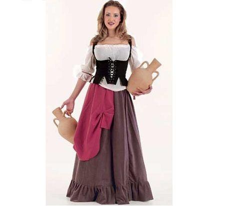 disfraces-medievales-campesina-falda-volante