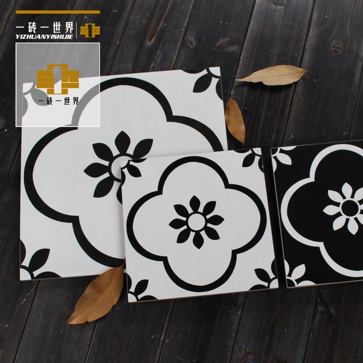 Американский стиль черно-белые черно-белая плитка для пола ванной плитка керамическая плитка Кирпич Восточного Средиземноморья плитки стены 300 цветов плитки