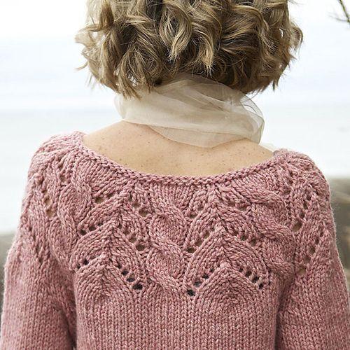 Ravelry: Zazanna pullover pattern by Norah Gaughan