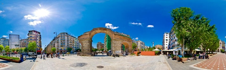 Galerius Arch-Hellenistic Age (Thessaloniki-Greece) via www.Thessaloniki.360.com