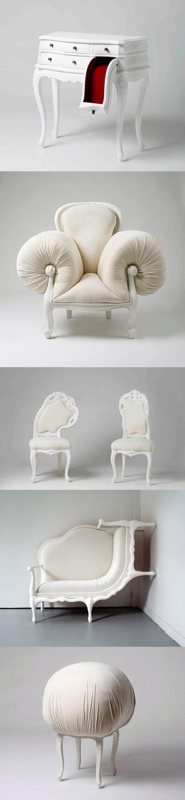 ideas about Weird Furniture on Pinterest Gothic furniture
