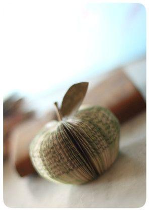 Décorer (25) : avec des pommes... - Avec ses 10 p'tits doigts... Soyez DIY !